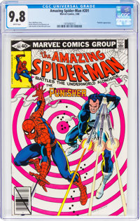 The Amazing Spider-Man #201 (Marvel, 1980) CGC NM/MT 9.8 White pages