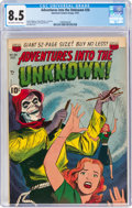 Golden Age (1938-1955):Horror, Adventures Into The Unknown #26 (ACG, 1951) CGC VF+ 8.5 Off-white to white pages....
