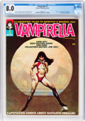Magazines:Horror, Vampirella #1 (Warren, 1969) CGC VF 8.0 White pages....