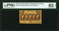 Fractional Currency:First Issue, Fr. 1281 25¢ First Issue PMG Gem Uncirculated 65 EPQ....