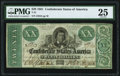 Confederate Notes:1861 Issues, T21 $20 1861 PF-6 Cr. 146 PMG Very Fine 25.. ...