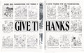 "Sergio Aragones MAD #228 Complete 2-Page Story ""Give Thanks"" Original Art (EC Comics, 1982).... (Total: 2 Orig..."