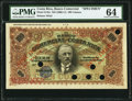 World Currency, Costa Rica Banco Comercial de Costa Rica 100 Colones ND (1906-11) Pick S145s Color Trial Specimen PMG Choice Uncirculated ...