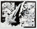 Original Comic Art:Splash Pages, Patrick Gleason and Mick Gray Superman #19 Splash Pages 8 and 9 Original Art Group of 2 (DC Comics, 2016).... (Total: 2 Original Art)