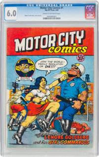 Motor City Comics #1 (Rip Off Press, 1969) CGC FN 6.0 Cream to off-white pages