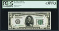 Small Size:Federal Reserve Notes, Fr. 1950-K $5 1928 Federal Reserve Note. PCGS Choice New 63PPQ.. ...