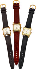 Timepieces:Wristwatch, Hamilton Tyrone, Lloyd & Carson (1960) Model Watches. ... (Total: 3 Items)