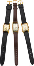 Timepieces:Wristwatch, Hamilton Boulton, Clark & Milton Model Wristwatches. ... (Total: 3 Items)