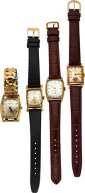 Timepieces:Wristwatch, Hamilton Colby, Wynn, Darrell & Perry Model Watches. ... (Total: 4 Items)