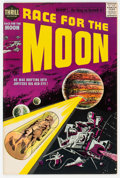 Silver Age (1956-1969):Science Fiction, Race For the Moon #2 (Harvey, 1958) Condition: VF/NM....