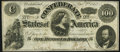 Confederate Notes:1862 Issues, T49 $100 1862 PF-2 Cr. 348 Fine.. ...