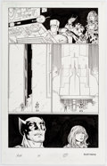 Original Comic Art:Panel Pages, John Romita Jr. and Scott Hanna Avengers vs. X-Men #4 Splash Page 17 Original Art (Marvel Comics, 2012). ...