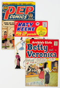 Silver Age (1956-1969):Humor, Archie Comics Group of 7 (Archie, 1950s-60s) Condition: Average FN.... (Total: 7 Comic Books)