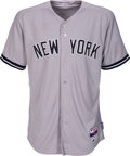 Baseball Collectibles:Uniforms, 2015 Mark Teixeira Game Used & Signed New York Yankees Jersey from 7/1 vs Los Angeles Angels - Steiner Sports....