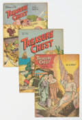 Golden Age (1938-1955):Miscellaneous, Treasure Chest Group of 10 (George A. Pflaum, 1946-49) Condition: Average FN/VF.... (Total: 10 Comic Books)