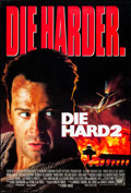 "Movie Posters:Action, Die Hard 2 & Other Lot (20th Century Fox, 1990). Rolled, Very Fine. One Sheets (2) (27"" X 40"" & 29.75"" X 39.75"") DS. Action.... (Total: 2 Items)"