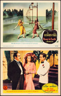 """Movie Posters:Musical, You Were Never Lovelier & Other Lot (Columbia, 1942). Very Fine-. Lobby Cards (2) (11"""" X 14""""). Musical.. ... (Total: 2 Items)"""