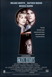 "Pacific Heights & Other Lot (20th Century Fox, 1990). Rolled, Very Fine+. One Sheets (2) (27"" X 40"") SS. T..."