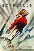 """Movie Posters:Action, The Rocketeer (Walt Disney Pictures, 1991). Rolled, Very Fine. One Sheet (27"""" X 40"""") DS, John Mattos Artwork. Action.. ..."""
