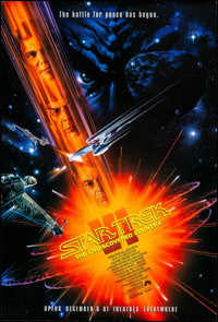 "Star Trek VI: The Undiscovered Country (Paramount, 1991). Rolled, Very Fine. One Sheets (2) (27"" X 41"") SS, Ad..."
