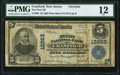 National Bank Notes:New Jersey, Cranford, NJ - $5 1902 Plain Back Fr. 609 The First National Bank Ch. # 12263 PMG Fine 12.. ....
