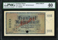World Currency, German States Bavarian Note Issuing Bank 100 Reichsmark 30.8.1924 Pick S942s Specimen PMG Extremely Fine 40.. ...