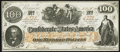 Confederate Notes:1862 Issues, CT41/316A Counterfeit $100 1862 Choice Crisp Uncirculated.. ...
