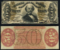Fr. 1328SP 50¢ Third Issue Spinner Narrow Margin Pair. ... (Total: 2 notes)