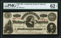 Confederate Notes:1863 Issues, T56 $100 1863 PF-3 Cr. 402 PMG Uncirculated 62 EPQ.. ...