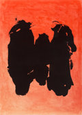 Prints:Contemporary, Robert Motherwell (1915-1991). Three Figures, 1989. Lithograph in colors on Somerset paper. 55-1/2 x 39-3/4 inches (141 ...