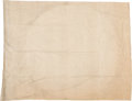 "Military & Patriotic:Civil War, U.S.S. Lafayette [or Fort Lafayette]: ""Summer Cover"" Flag.. ..."