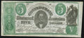 CT33/250G Counterfeit $5 1861 Extremely Fine-About Uncirculated