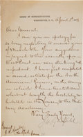 Autographs:U.S. Presidents, James A. Garfield Letter Signed ...