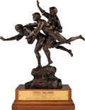 Football Collectibles:Others, 1998 Walter Camp Award Presented to University of Texas Longhorns Running Back Ricky Williams....