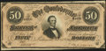 Confederate Notes:1864 Issues, T66 $50 1864 PF-5 Cr. 498 Choice About Uncirculated.. ...