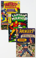 Silver Age (1956-1969):Superhero, Marvel Silver Age Comics Group of 22 (Marvel, 1960s) Condition: Average VG-.... (Total: 22 Comic Books)