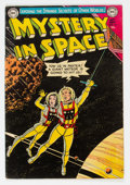 Golden Age (1938-1955):Science Fiction, Mystery in Space #16 (DC, 1953) Condition: FN-....