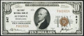 National Bank Notes:Pennsylvania, Altoona, PA - $10 1929 Ty. 1 The First National Bank Ch. # 247 Choice Crisp Uncirculated.. ...