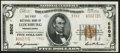 National Bank Notes:Pennsylvania, Leechburg, PA - $5 1929 Ty. 2 The First National Bank Ch. # 5502 Very Fine-Extremely Fine.. ...