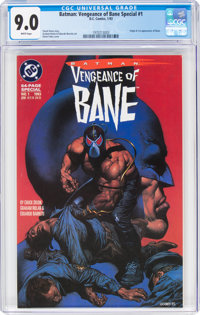 Batman: Vengeance of Bane Special #1 (DC, 1993) CGC VF/NM 9.0 White pages