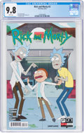 Modern Age (1980-Present):Humor, Rick and Morty #3 (Oni Press, 2015) CGC NM/MT 9.8 White pages....
