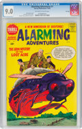Silver Age (1956-1969):Science Fiction, Alarming Adventures #1 File Copy (Harvey, 1962) CGC VF/NM 9.0 Off-white to white pages....