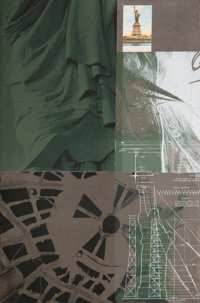 Robert Rauschenberg (1925-2008) Statue of Liberty, from the New York, New York portfolio, 1983 Screenprint in colo