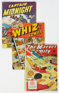 Golden Age (1938-1955):Miscellaneous, Golden Age Miscellaneous Comics Group of 9 (Various Publishers, 1940s-50s) Condition: Average GD/VG.... (Total: 9 Comic Books)