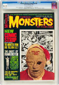 Famous Monsters of Filmland #48 (Warren, 1968) CGC NM- 9.2 Off-white to white pages