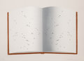 Prints:Contemporary, Ed Ruscha (b. 1937). Open Book with Worm Holes, 2012. Lithograph in colors on Magnani Pescia paper. ...