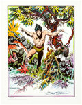 Memorabilia:Comic-Related, Burne Hogarth and Selby Kelly - Signed Limited Edition Prints Group of 3 (Various Publishers, 1972-1978).... (Total: 3 Items)
