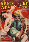 Pulps:Horror, Spicy Adventure Stories - May 1936 (Culture) Condition: FN-....