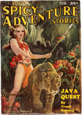 Pulps:Adventure, Spicy Adventure Stories - February 1935 (Culture) Condition: VG-....