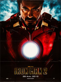 "Iron Man 2 (Paramount, 2010). Folded, Very Fine. French Grande (46.5"" X 62.25"") Advance. Science Fiction"